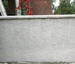 Sandstrahlen - Reinigung von Stein