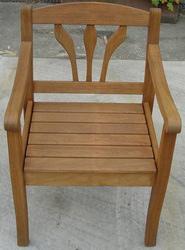 Sandstrahlen Stuhl nachher