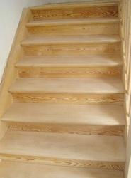 Sandstrahlen Treppe nachher